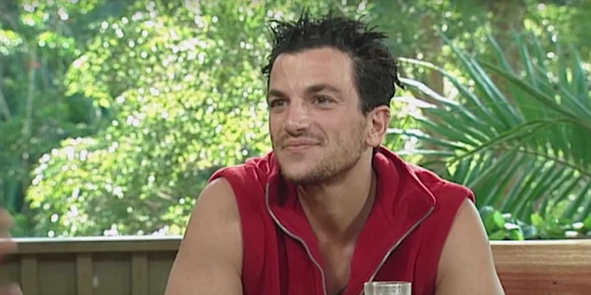 Peter Andre has finally trashed his I'm a Celebrity keepsakes