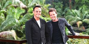 Could this familiar face be replacing Ant to present I'm A Celeb?