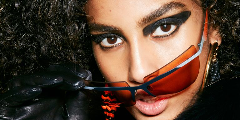 imaan hammam milan fashion week 2017