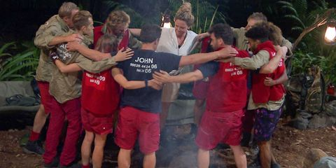 Everyone loves this year's supportive I'm A Celebrity campmates