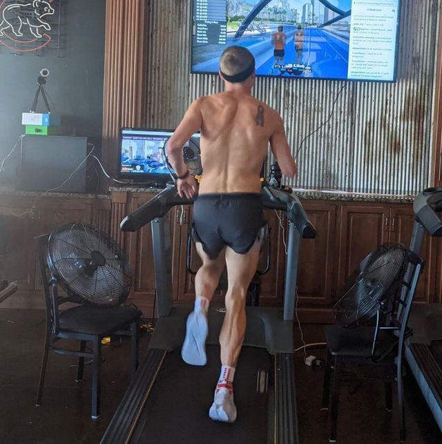taggart vanetten 100 mile treadmill world record