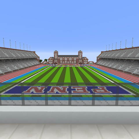 With the 2020 Penn Relays canceled for the first time in its 125-year existence, the race created an e-sports version of the event. This included building the famous track in the popular video game Minecraft.