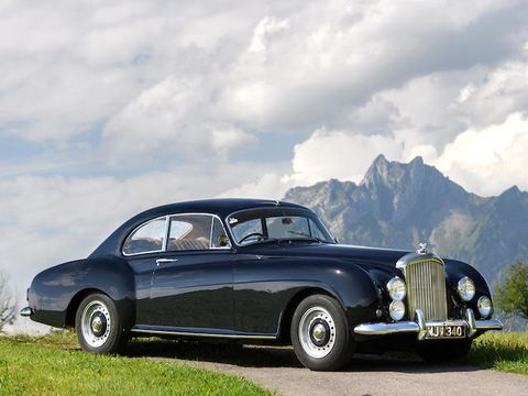 1954 bentley r type continental the peak of class