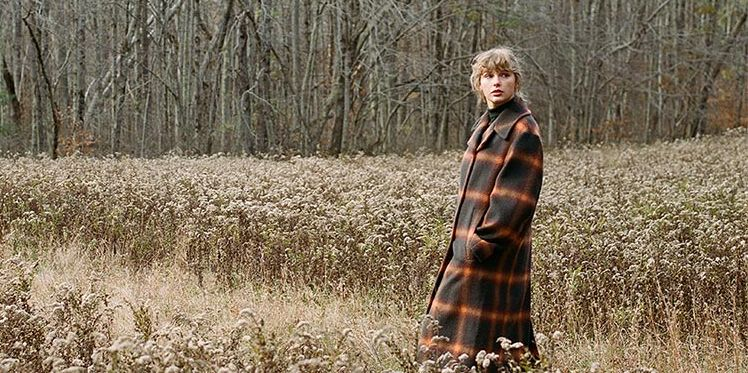 Image result for taylor swift plaid coat folklore