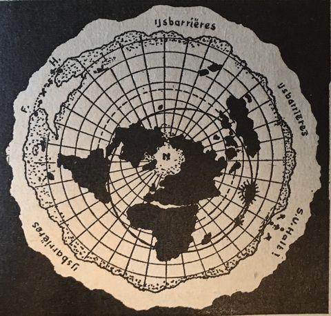 klaas dijkstra geloofde dat de aarde plat is