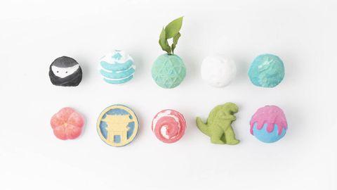 LUSH原宿店推出日本限定氣泡彈!超可愛「忍者」、「招財貓」、「壽司」怎麼捨得丟水裡啦!