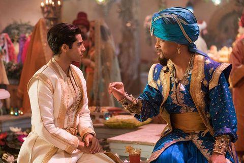 阿拉丁, Aladdin, 茉莉公主, Princess Jasmine, 威爾史密斯, Will Smith, 精靈, Genie