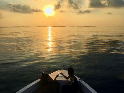 Sky, Horizon, Water, Sea, Sunset, Ocean, Sunrise, Cloud, Calm, Morning,
