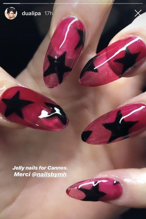 Dua Lipa Nails