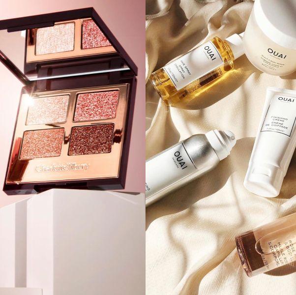 Product, Beauty, Pink, Eye shadow, Cosmetics, Eye, Material property, Peach, Gloss,