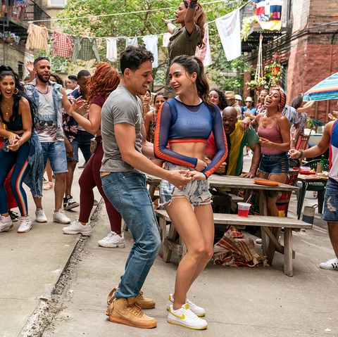people dancing in the streets