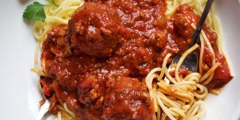 Cuisine, Food, Dish, Ingredient, Spaghetti, Meat, Amatriciana sauce, Italian food, Bolognese sauce, Cacciatore,