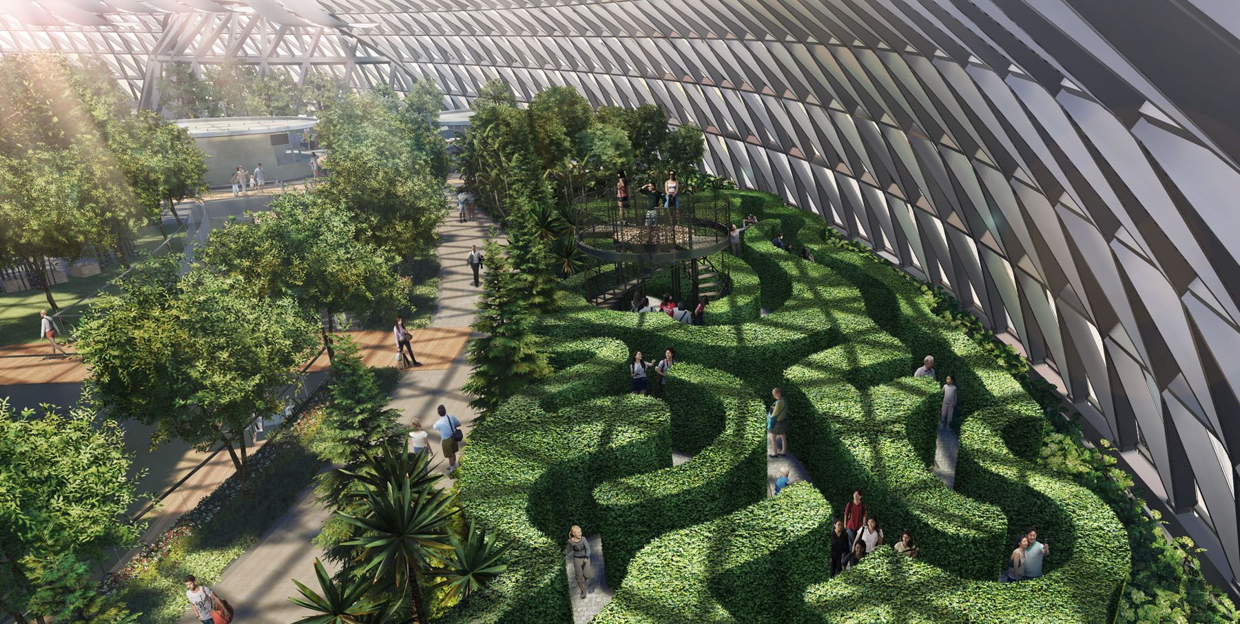 The Singapore Changi Airport Gets A New Facility - Best