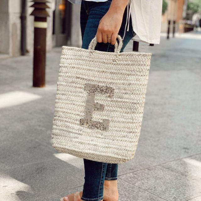 capazos y cestas personalizados de la firma española anitials