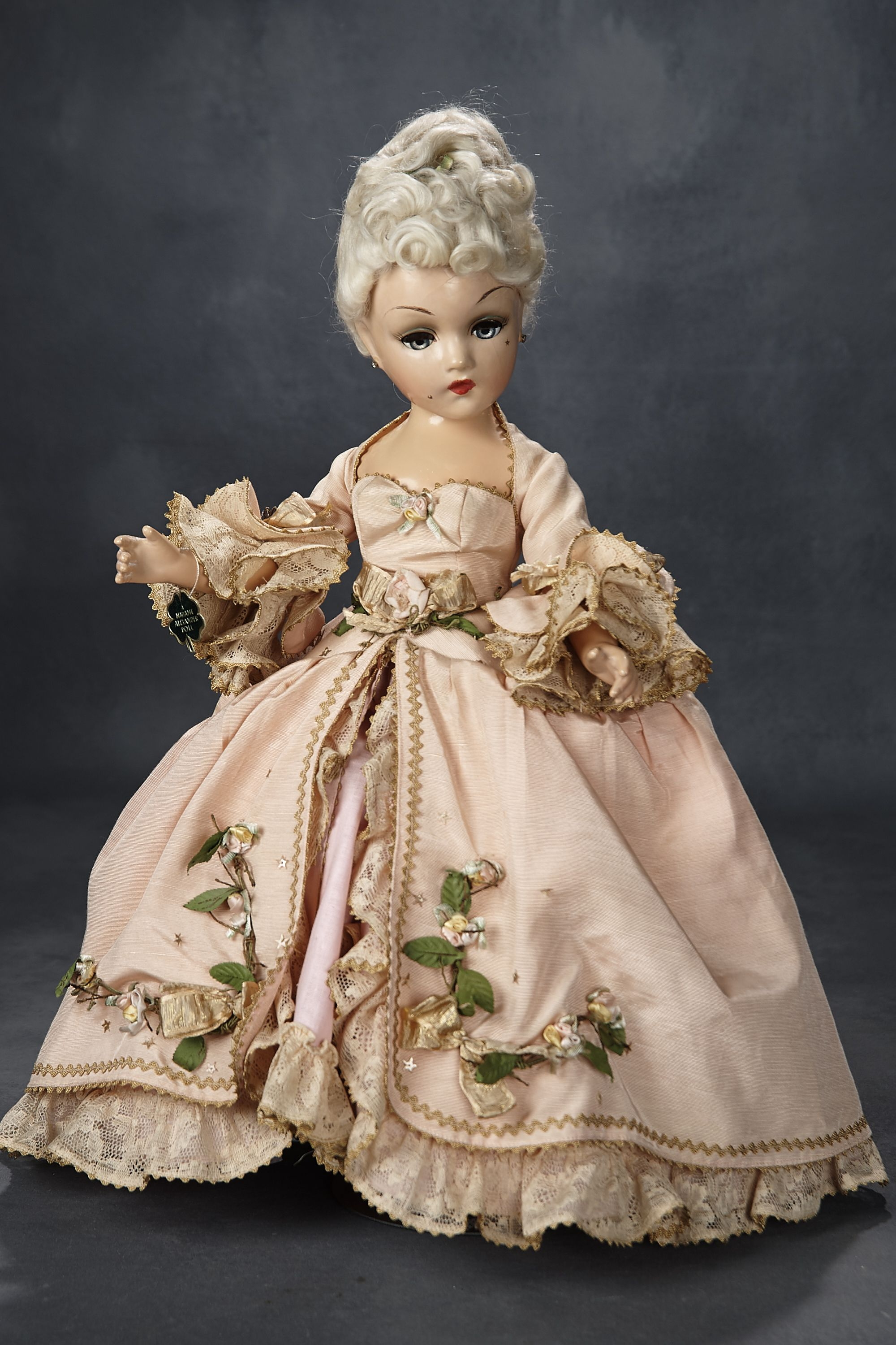 "only SALE Madame Alexander 8/"" little doll COLLECTOR DRESS"