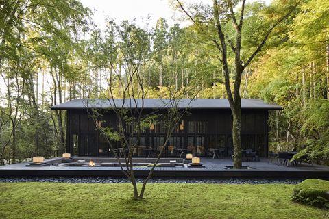 Living Pavilion at Aman Kyoto