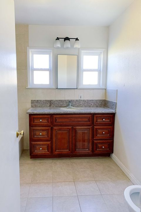 before bathroom very plain