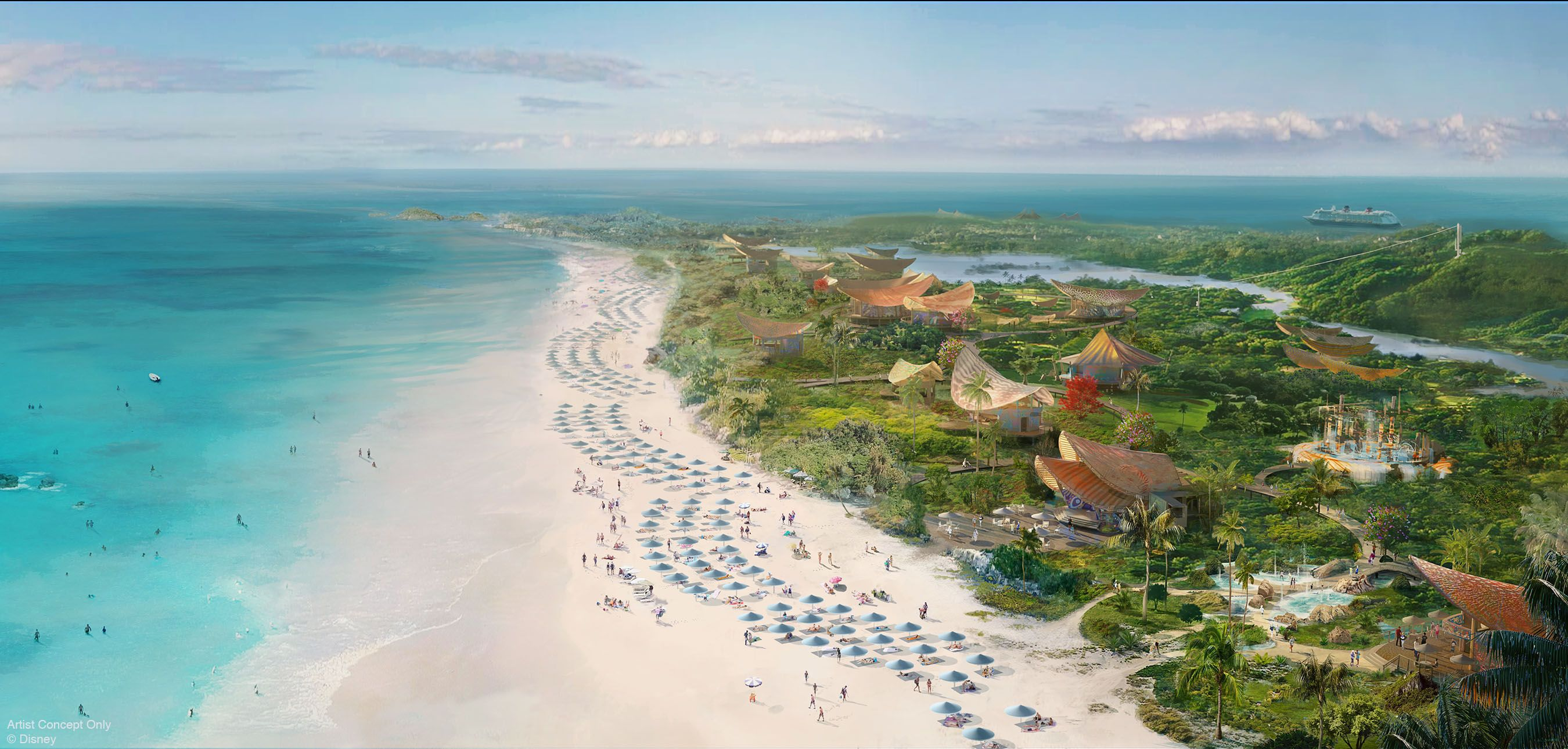 Disney Is Building a Resort on a Private Island in The Bahamas, and We Can't Wait to Visit