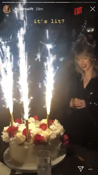 Taylor Swift Posts Photos From Her Private Christmas Themed 30th Birthday Party