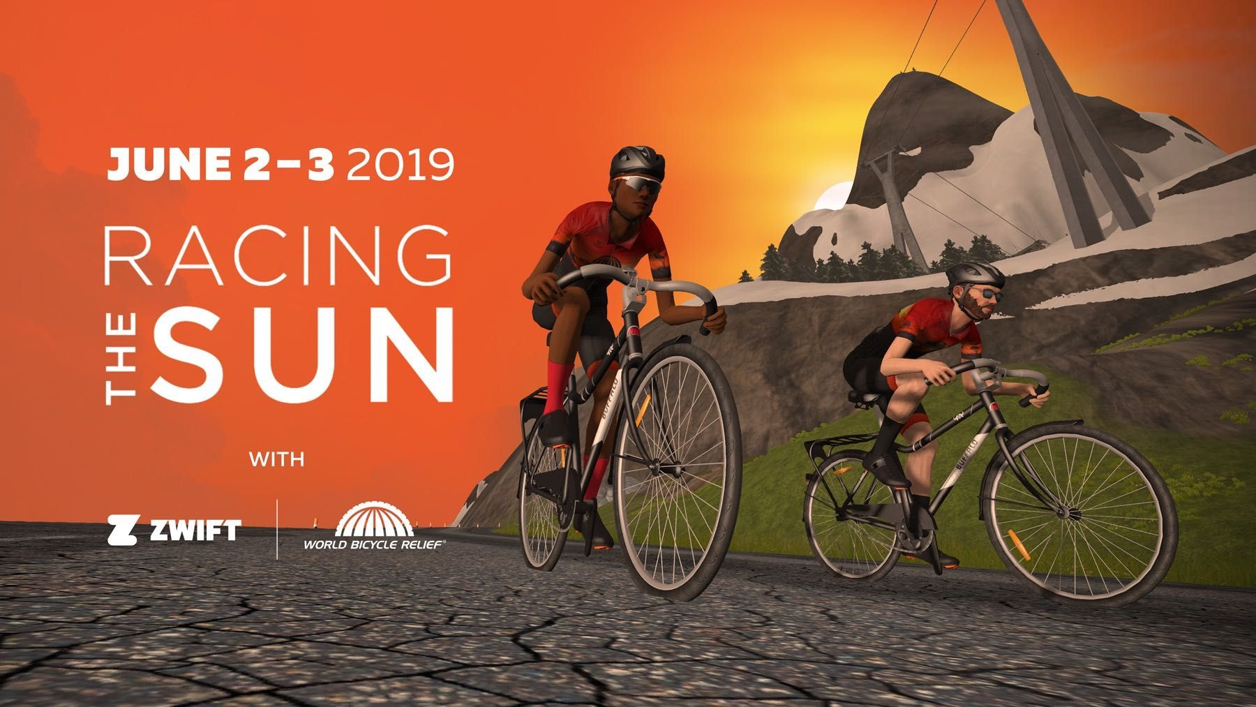 Zwift to Host 'Racing the Sun' Charity Rides for World