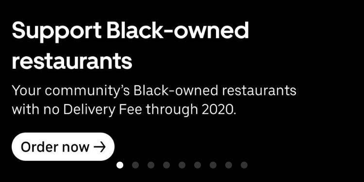 Uber Eats Added A Feature To Help You Find Black Owned Businesses