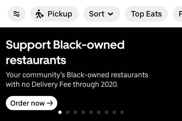 uber eats new feature
