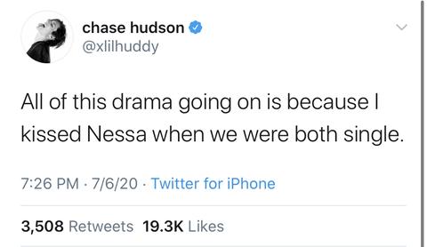 chase hudson drama