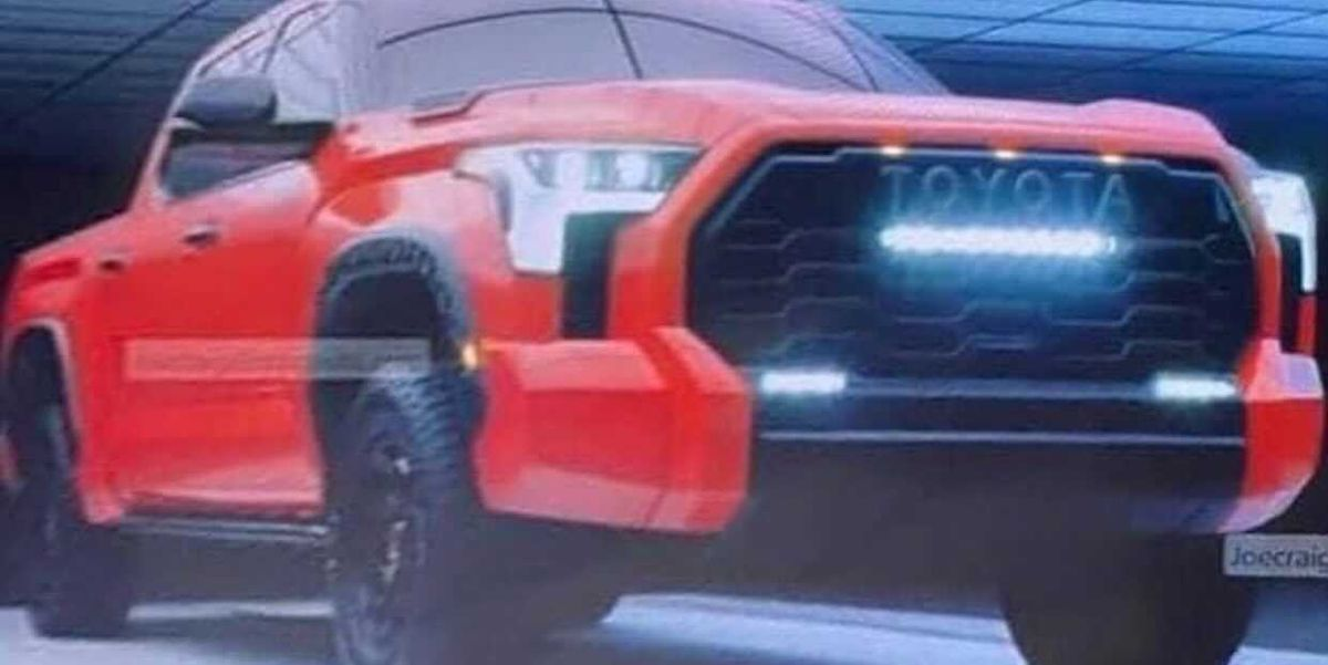 2022 Toyota Tundra TRD Pro Leaked Images Show Imposing New Look
