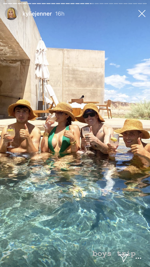 kylie jenner's vacation photos