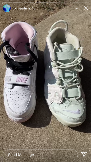 billie eilish's sneakers