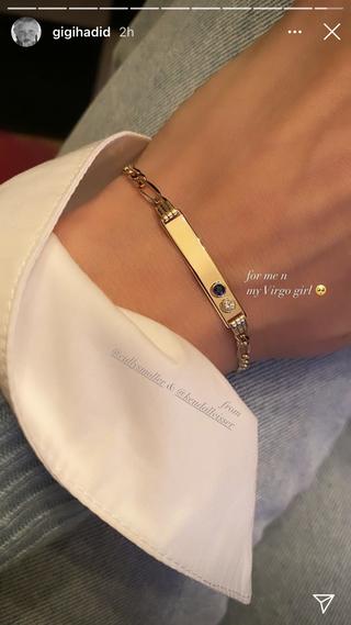 gigi hadid's baby's gifts
