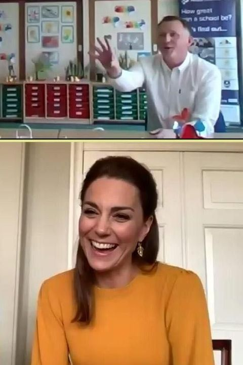 William and Kate on a Video Call