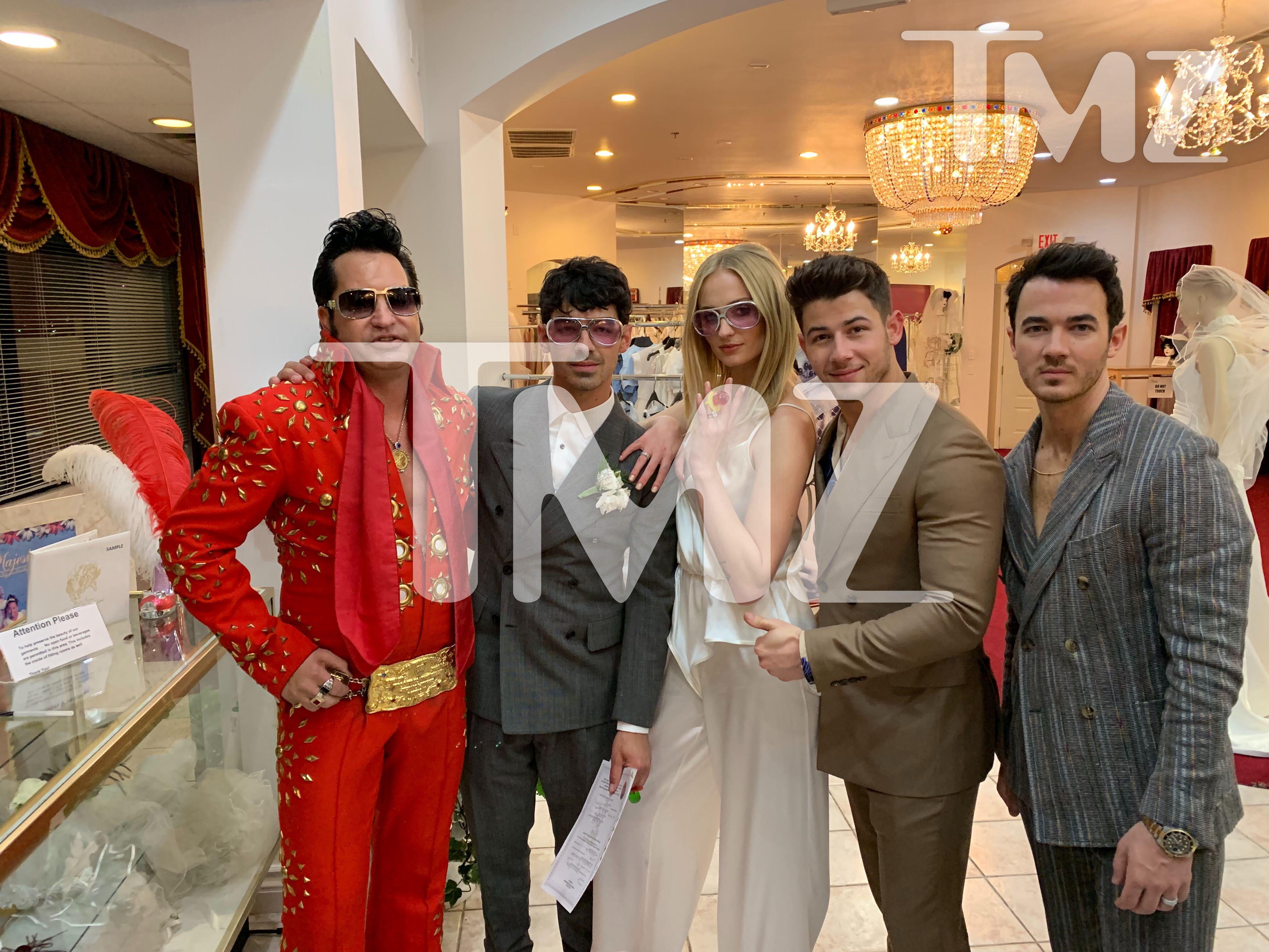 Sophie Turner & Joe Jonas Got Married in Las Vegas After the