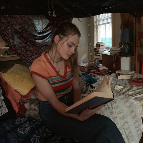 Room, Textile, Art, Sitting, Reading,