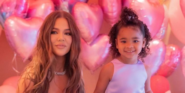 Inside Khloé Kardashian's 3rd Birthday Party For True: Disney Princesses, Giant Balloons, And A Bounce House