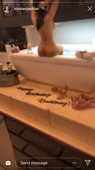 Surprising What Kourtney Kardashians 40Th Birthday Party Was Like Guest Funny Birthday Cards Online Fluifree Goldxyz