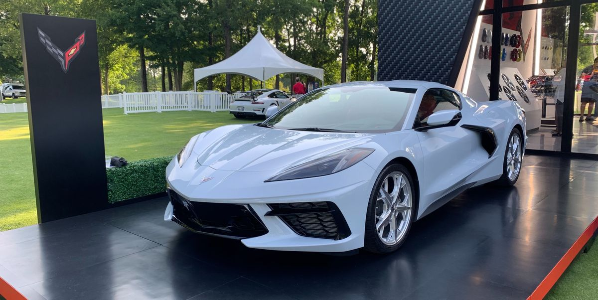2020 Chevy Corvette C8 Drew Attention at the Concours of America