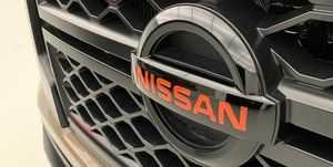 2020 Nissan Titan XD front grille