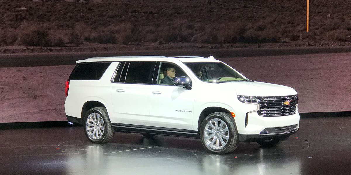 2021 Chevy Suburban and Tahoe Revealed!