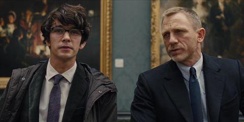 Ben Whishaw Q Daniel Craig James Bond Skyfall