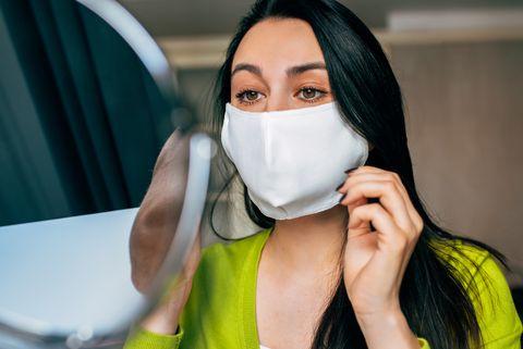 make up face mask
