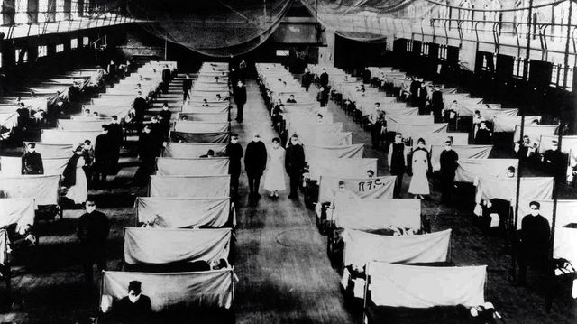 warehouses that were converted to keep the infected people quarantined