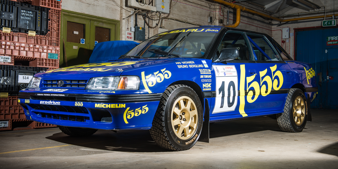 Cars For Sale Los Angeles >> Be the Coolest Guy at Rallycross With a Subaru Legacy WRC Car