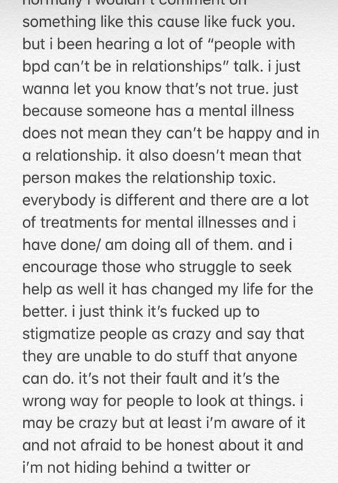 dating someone with mental health issues