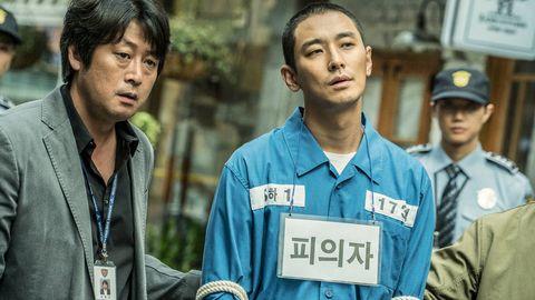 朱智勳拍《暗數殺人》,被老前輩嫌棄:「剪平頭還那麼帥,看了就生氣!」