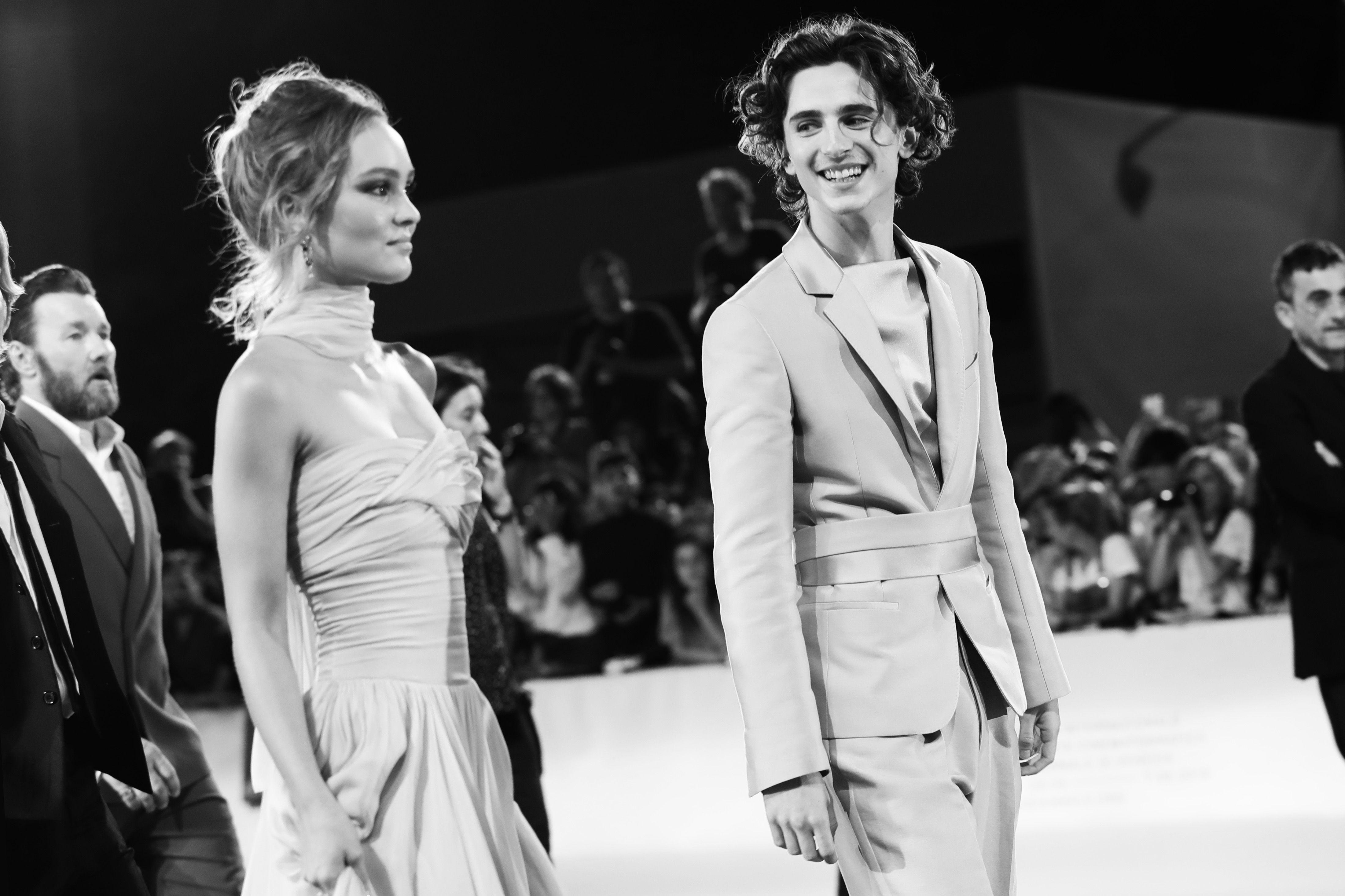 Timothée Chalamet and Lily-Rose Depp's Relationship Timeline