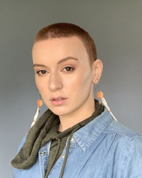 Shaving ladies head HaircuttingFun