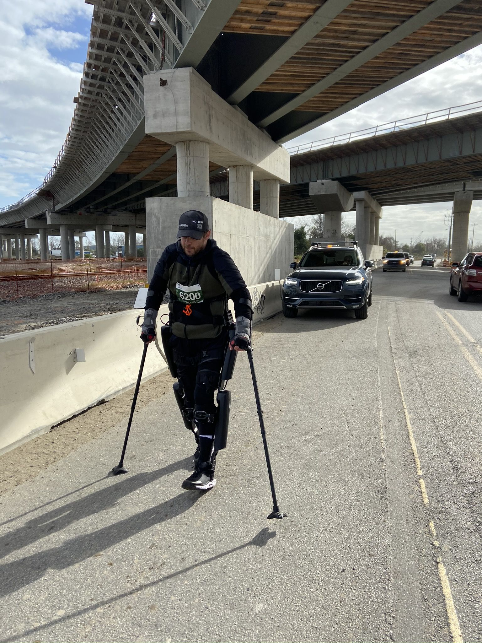 Marathon Record Shattered at Charleston Marathon by Man in Exoskeleton