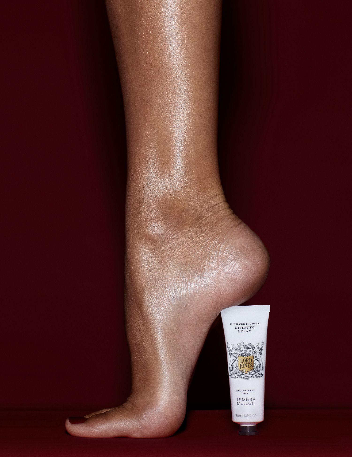 Lord Jones and Tamara Mellon Created a CBD Cream for High-Heel Lovers