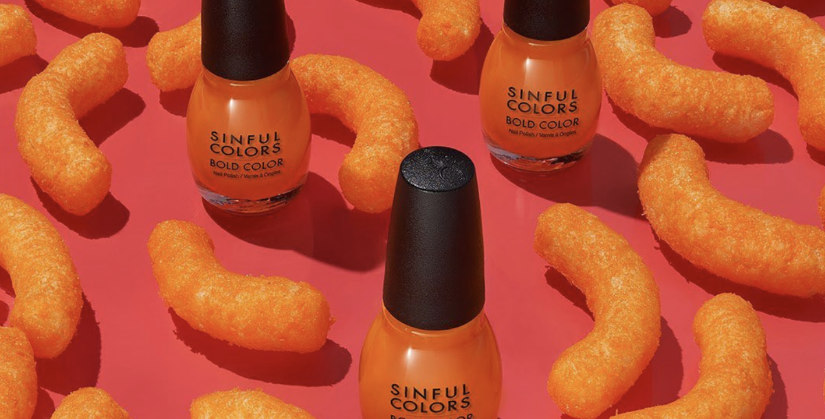 You Can Buy Nail Polish That Smells Like Cheese Puffs If You're Into That Kinda Thing